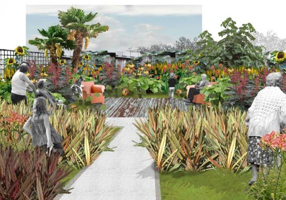 A garden to share